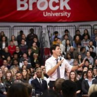 Trudeau Says He Will 'Continue To Condemn The BDS Movement' At St. Catharines Town Hall