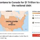 Change.Org Petition Asks U.S. To Sell Montana To Canada To Get Rid Of National Debt