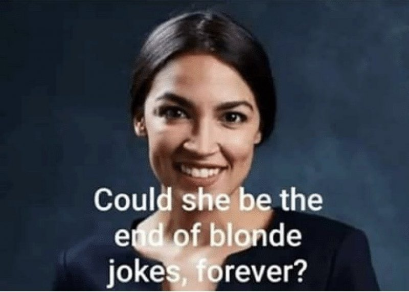 The end of blonde jokes?