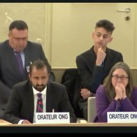 MUSLIM STANDS UP FOR ISRAEL AT UN HUMAN RIGHTS COUNCIL