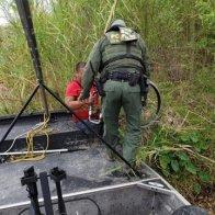 Legless man rescued by Border Patrol agents