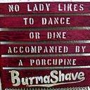 Burma ShaveSigns