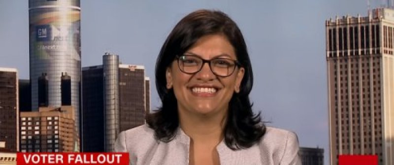 Tlaib Deceptively Accuses Jew and Black Conservative of 'Hate Rhetoric'
