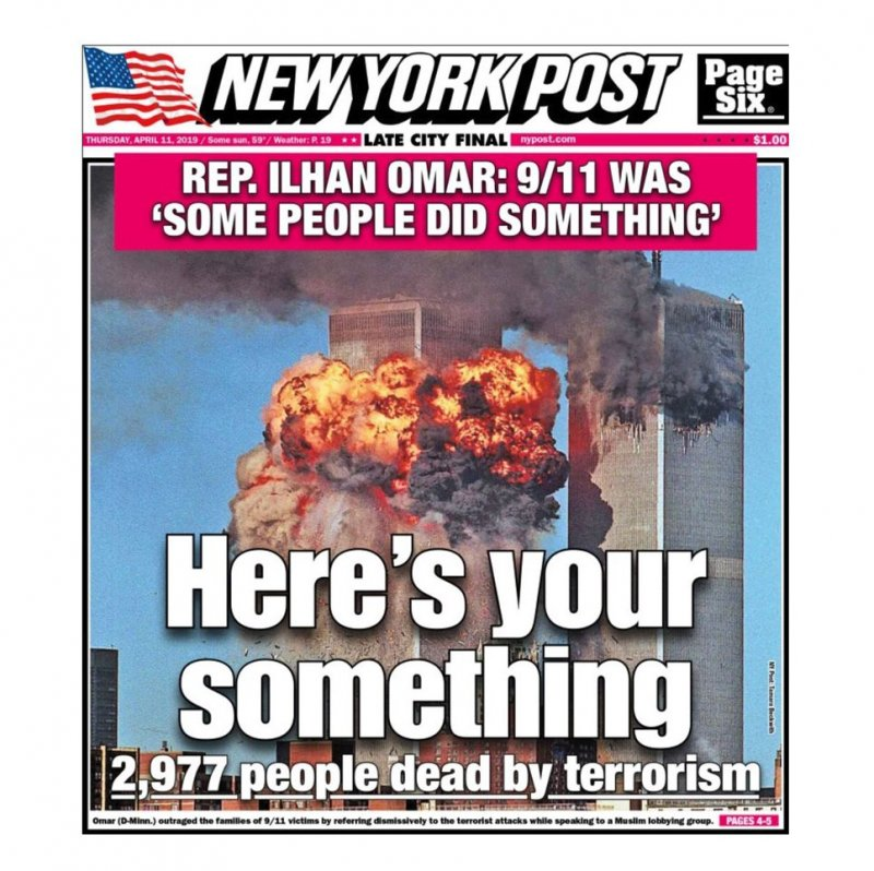 Ilhan Omar's outrageous statement about 9/11