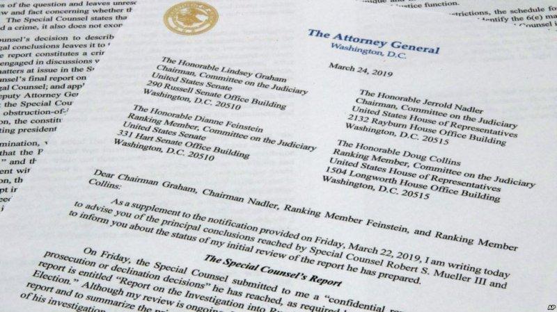 Many Aren't Exonerating Trump in Russia Probe