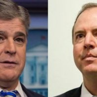 Hannity of Fox News Says He Has a 'Dossier' on Adam Schiff