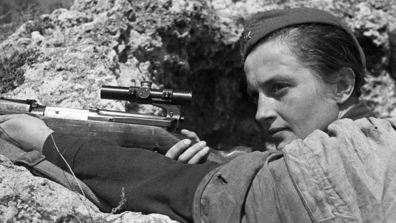 Lady Death: Lyudmila Pavlichenko, the Greatest Female Sniper of All Time