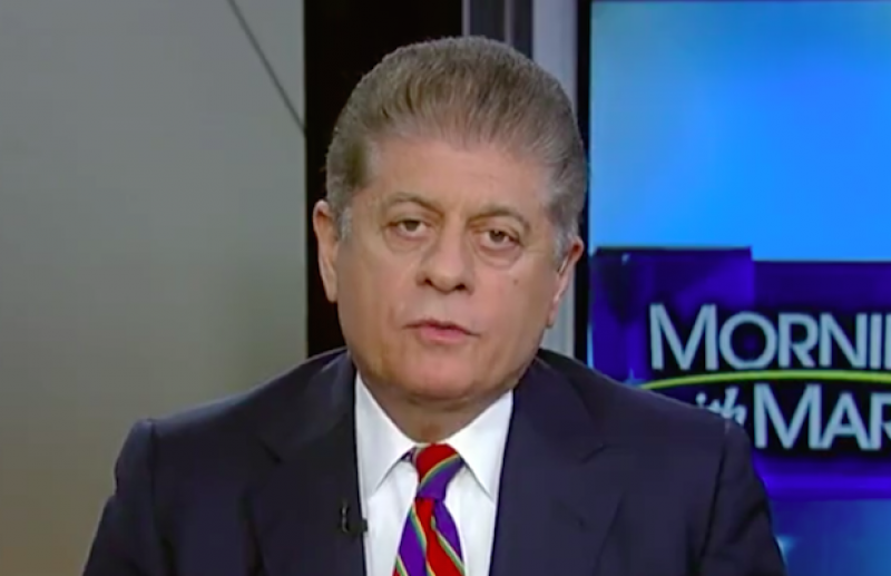 Andrew Napolitano Responds to Trump Twitter Attacks: 'This Is the Way You Treat Your Friends'