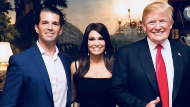 Trump hires Don Jr.'s girlfriend Kimberly Guilfoyle as senior campaign adviser: 'He's running out of family members'