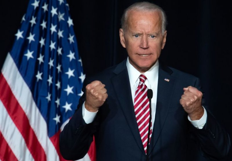 A parody website with embarrassing photos of Joe Biden is outranking his official campaign page on Google