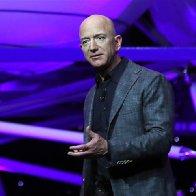 Jeff Bezos unveils Blue Origin's new 'Blue Moon' lunar lander