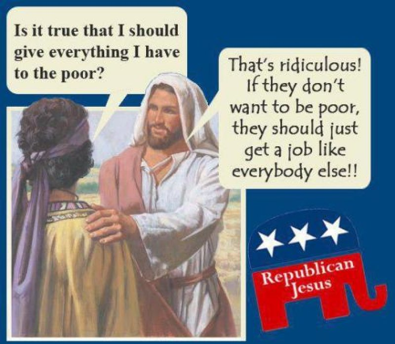 Republicans Aren't Christians