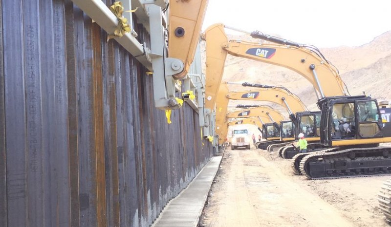 First-ever private border wall built in New Mexico