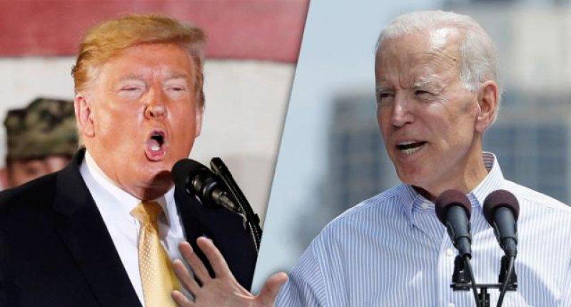 Trump, leaving Japan, attacks Biden over 'Three Strikes' crime law