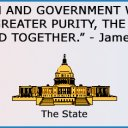 The strict separation of church and state