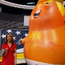 """Baby Blimp"" Assassinated In London By Villainous Trumpster"