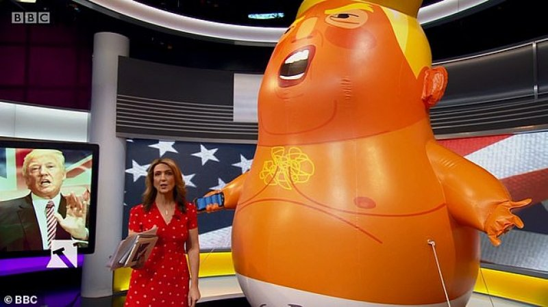 """""""Baby Blimp"""" Assassinated In London By Villainous Trumpster"""