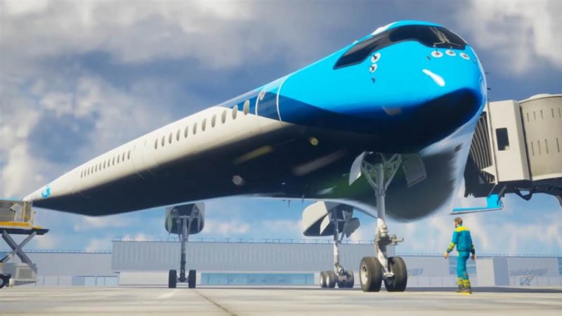 Futuristic 'Flying V' airplane could change the way we fly