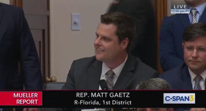Rep. Matt Gaetz Goes After 'Prop' John Dean at the Dems' Mueller Show Trial