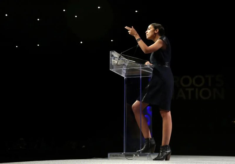 ALEXANDRIA OCASIO-CORTEZ INVITED BY POLISH MP TO SEE CONCENTRATION CAMPS