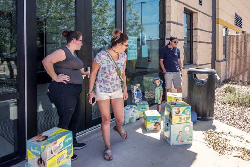 People want to donate diapers and toys to children at Border Patrol facilities in Texas. They're being turned away.