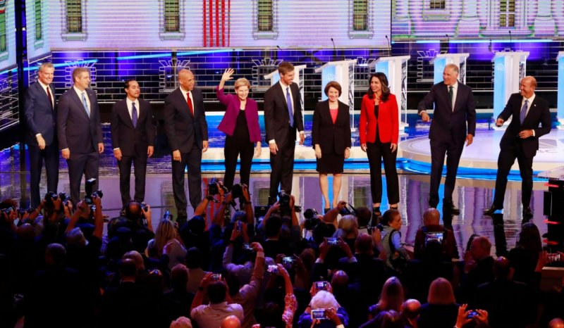 A Few thoughts on the democratic debate/ Round 1