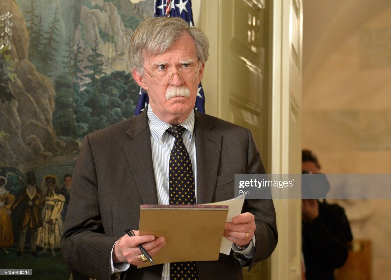 John Bolton Urges War Against The Sun After Uncovering Evidence It Has Nuclear Capabilities