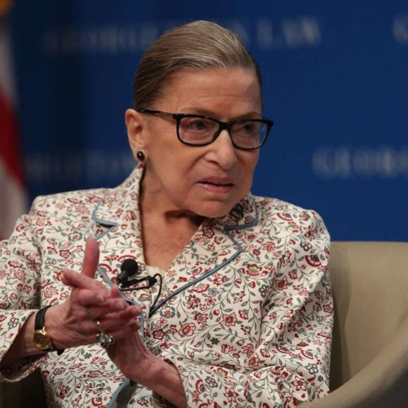 Ginsburg praises Kavanaugh and reflects on gender equality
