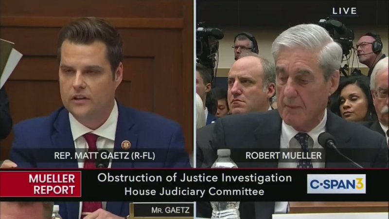 'National embarrassment' Matt Gaetz hit with wave of mockery for unhinged attack on Mueller: 'The human embodiment of a Hannity monologue'