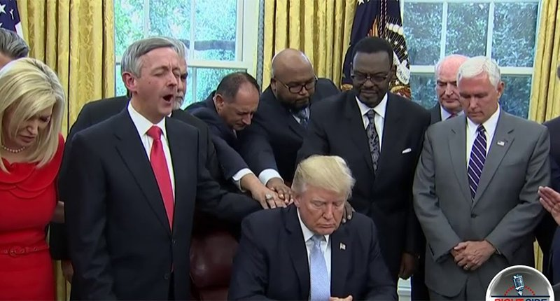 'The church was empty': Congregation walks out of service after pastor echoes Trump