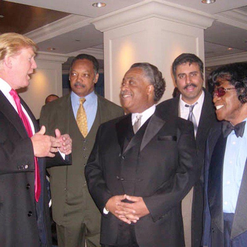 Trump trash-talks 'con man' Al Sharpton as Baltimore feud drags on