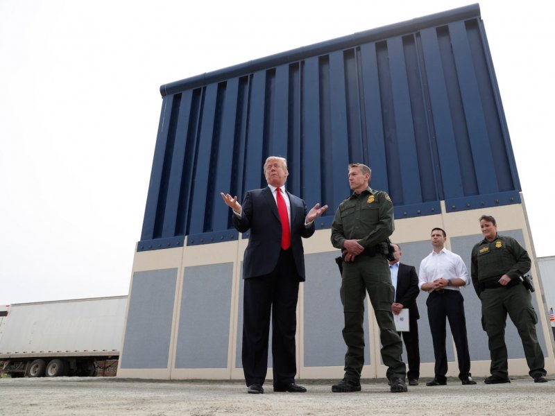 Money from a retirement program for the US military is set to be diverted to pay for Trump's border wall