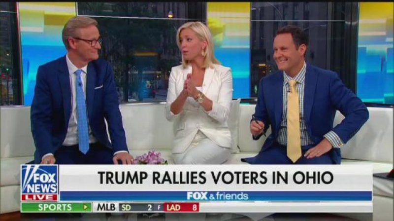 Fox News Host Ainsley Earhardt: Trump's a 'Rust Belt' Guy, a 'Blue-Collar' Worker