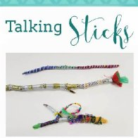 Aboriginal Talking Sticks - Native Custom