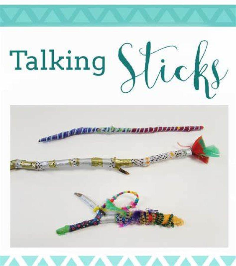 Aboriginal Talking Sticks - Native Custom