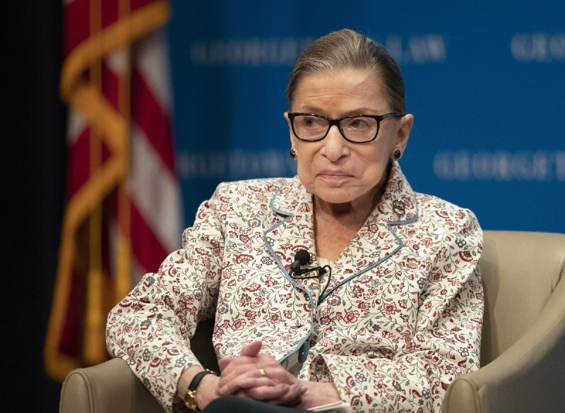 Ruth Bader Ginsburg underwent treatment for tumor on pancreas, Supreme Court says
