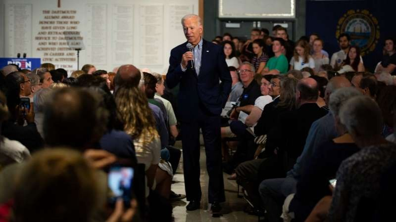 Joe Biden, Recalling '68, Asks Audience to Imagine Obama's Assassination
