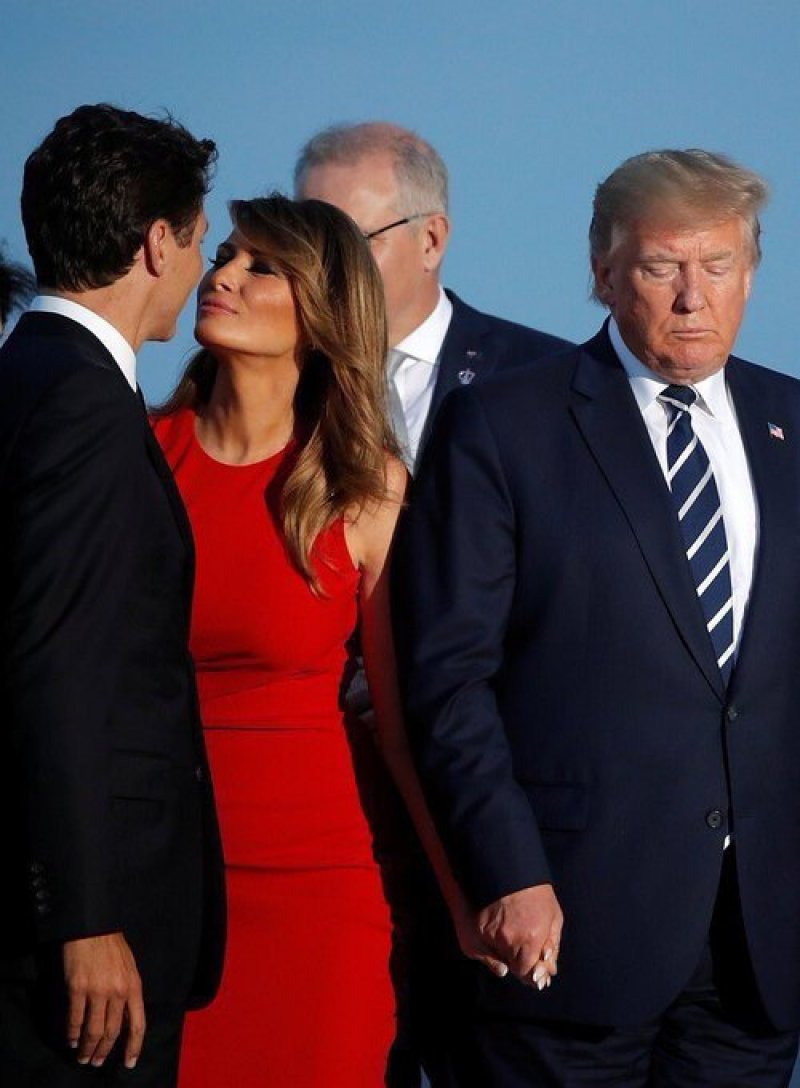 A Selection of the Embarrassing Bad Craziness of Trump at the G7