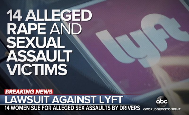 Women sue Lyft saying not enough done to protect them from sexual assault by drivers