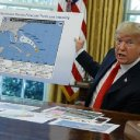 Trump says 'I don't know' how map was altered to show Alabama in Hurricane Dorian's path