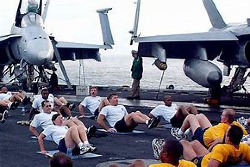 The Navy is the US military's fattest service branch, new Pentagon report reveals