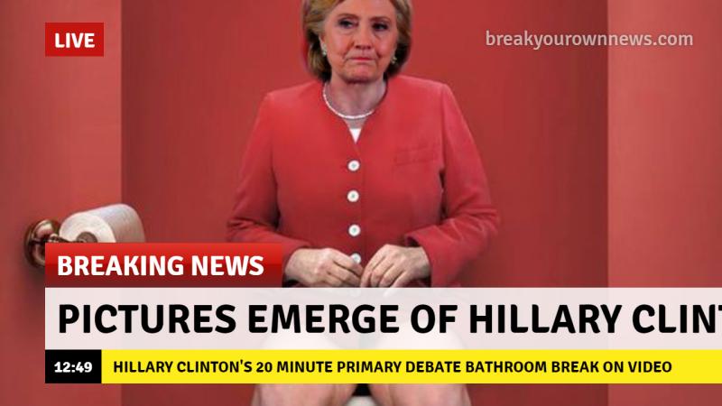 Democrats Think Impeachment will finally elect Hillary
