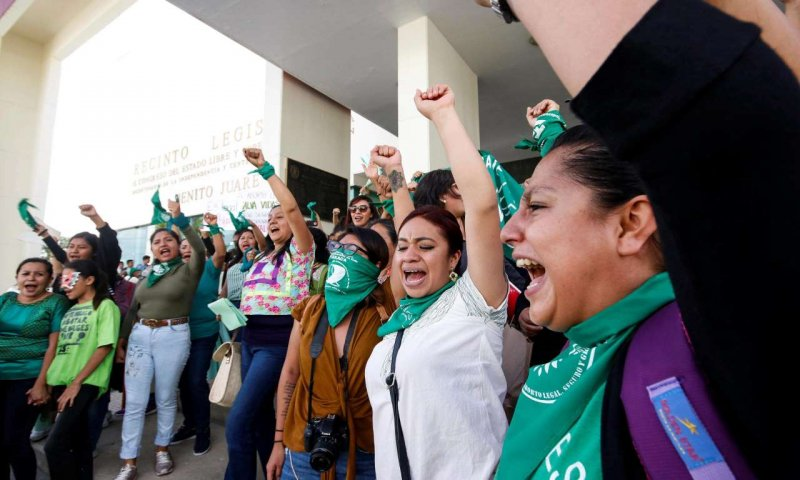 'We have made history': Mexico's Oaxaca state decriminalises abortion