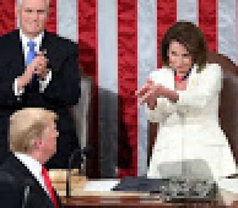 Trump Just Threw Pence Under The Bus And Now 'President Pelosi' Is Trending
