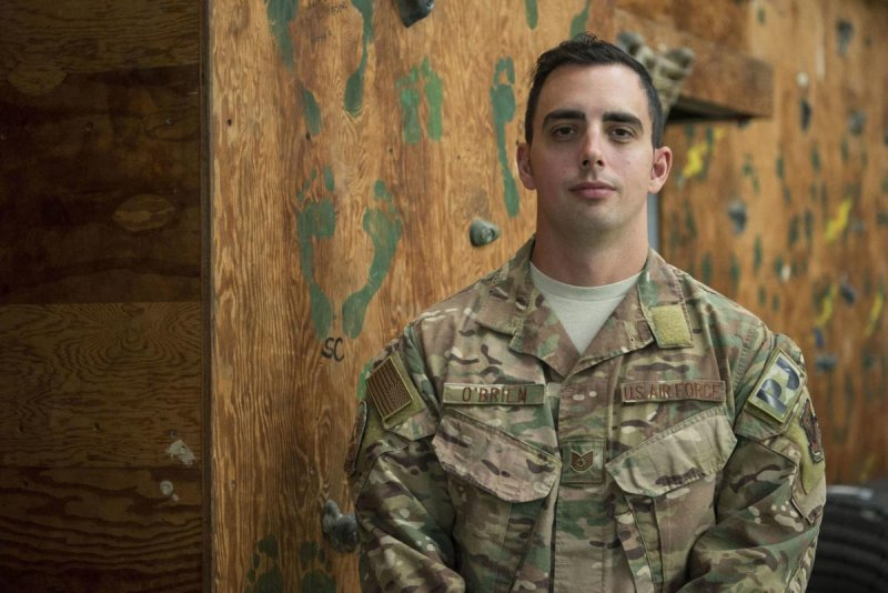 On his way to receive an award for outstanding service, airman saves child's life