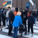 Antifa Harass Elderly Couple, Refuse To Let Them Cross The Street