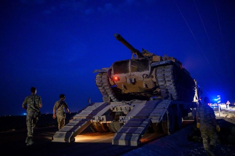 U.S. and Kurdish officials expect Turkey to launch a military operation within 24 hours as Trump tries to backpedal.