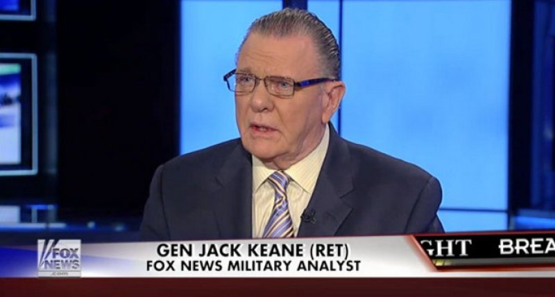 General Keane:  Turkish incursion into Syria would force Kurds to flee, freeing captured ISIS members (via Fox news)