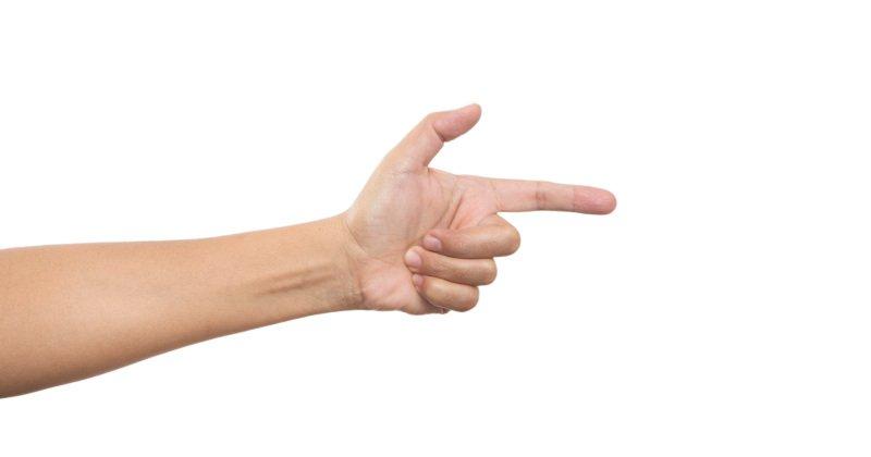 Kansas finger gun, Felony charge for girl, 13, who pointed finger-guns