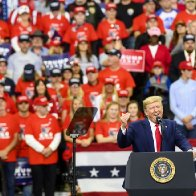 Trump's Minneapolis Rally Was a Demonstration of the Moral Suicide Pact He's Made With His Supporters